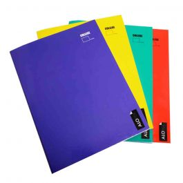 CUADERNO COLLEGE CROQUIS 80HJ LISO 4 COLORES
