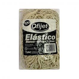 ELASTICO 1.5X500G BLANCO