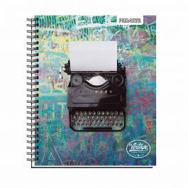 CUADERNO UNIVERSITARIO 7MM 100HJ TED/ ED VINTAGE