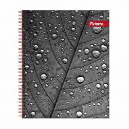 CUADERNO UNIVERSITARIO 7MM 100HJ CLASICO BLACK&WHITE